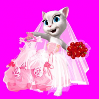 Talking Tom Angela City Wedding Boutique